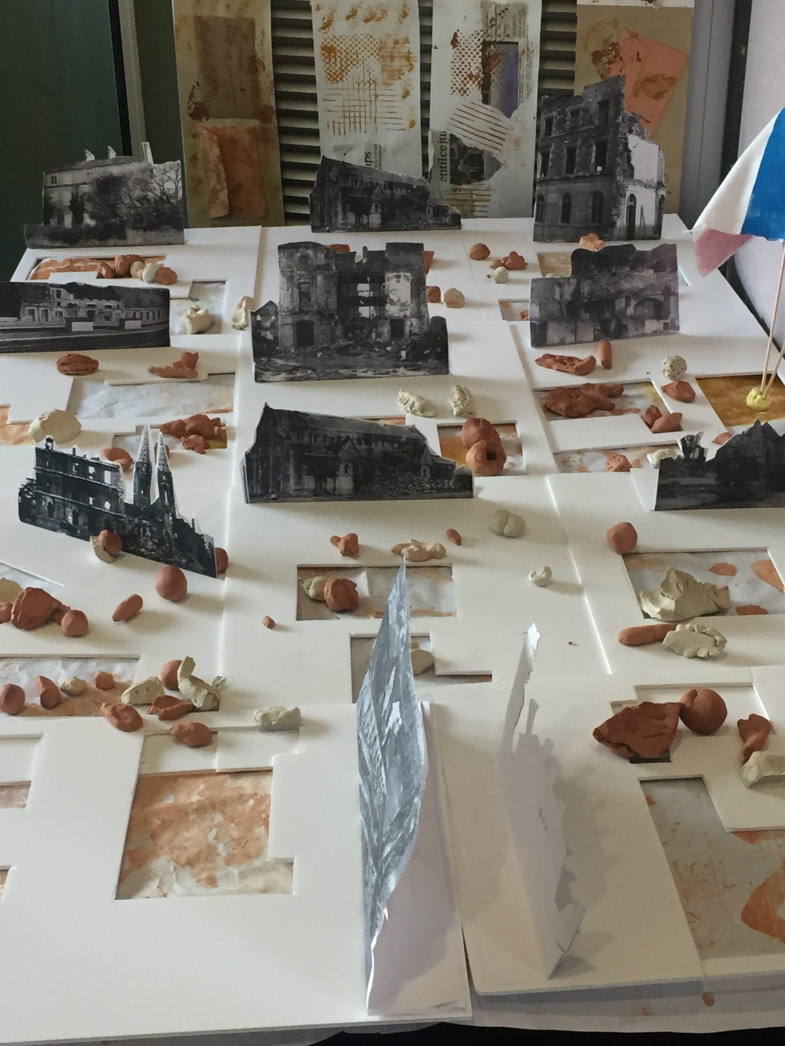 les ruines le chaos